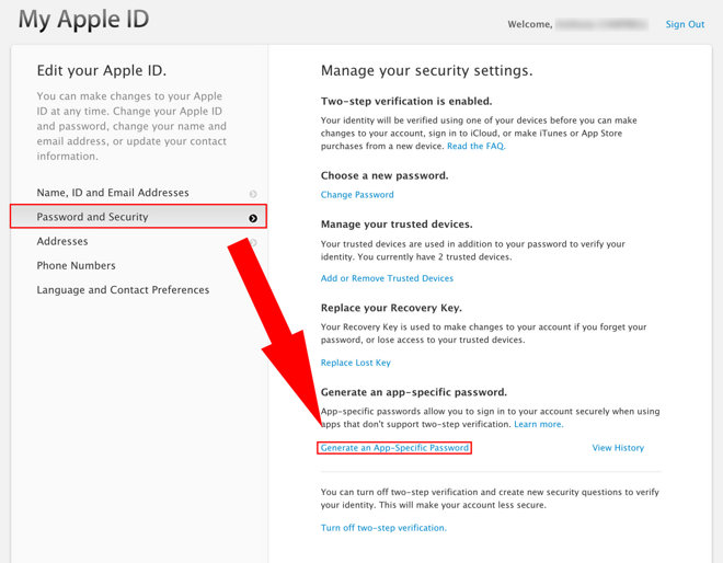 how to change your apple id password on iphone 5