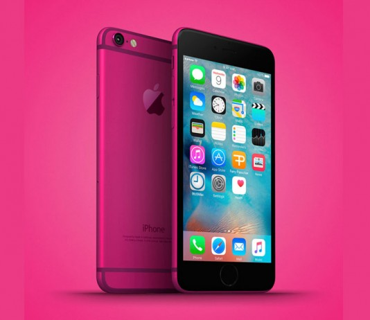 pink iPhone 5se